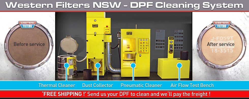Dpf Cleaning System Diesel Particulate Filter Western